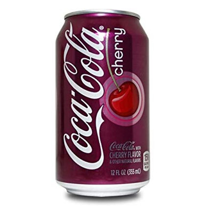 USA Coca-Cola Cherry 355ml 12 Pack