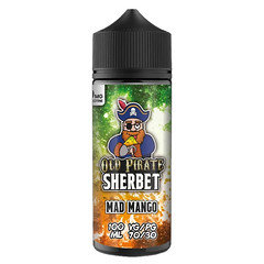Old Pirate Sherbet E-Liquid 100ml Mad Mango