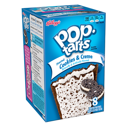 Pop Tarts Frosted Cookies&Creme 400g