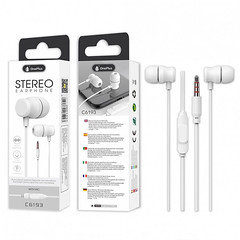 OnePlus Stereo Earphone With Mic C6193 (White)