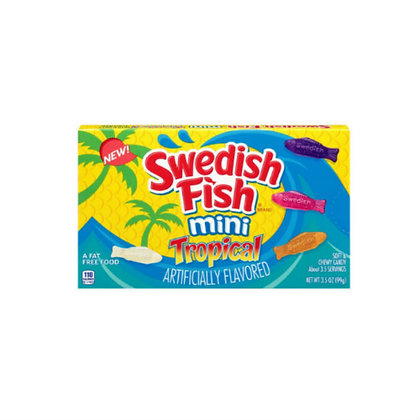 Swedish Fish Mini Tropical (Theatre Box) 99g