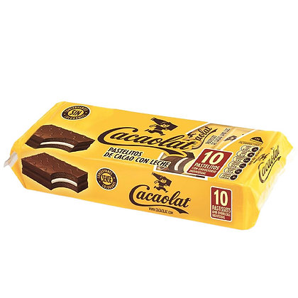 Cacaolat Cakes Pack Of 10