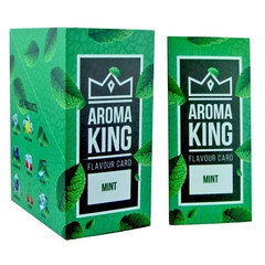 Aroma King Flavour Cards Mint 25 Pack