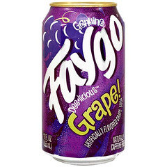 Faygo Grape 355ml Cans 12 Pack