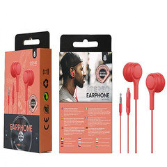 OnePlus Stereo Earphone  With Mic C5146 (Red)