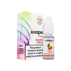 88 Vape E-Liquid Morello Cherry 16mg 1.6% 10ml