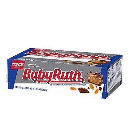 BabyRuth 53.8g x 24 Chocolate Bars