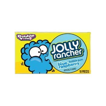 Jolly Rancher Bubble Yum Blue Raspberry x 12