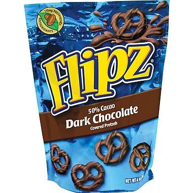 Flipz Dark Chocolate Pretzels 141g X 6