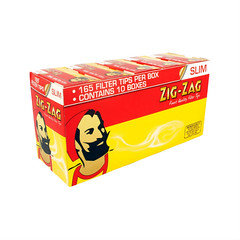 Zig zag slim filter tips x 10 boxes
