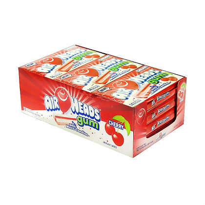 Airheads Gum Cherry x 12