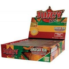 Juicy Jays King Size Slim Rolling Paper Jamaican Rum