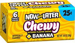 Now and Later Chewy Banana 26g x 24