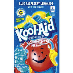 Kool Aid Blue Raspberry Lemonade 4.5g 48 Pack