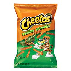Cheetos Cheddar Jalapeno Crunchy 224.8g 10 Packets/Box
