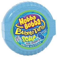 Hubba Bubba Bubbletape Blue Raspberry 56.7g 6 Pack