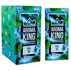 Aroma King Flavour Cards Cool Ice 25 Pack