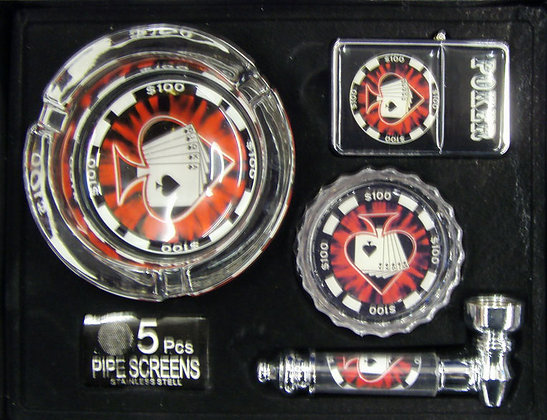 Casino Smoking Gift Set