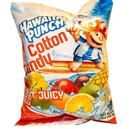 Hawaiian Punch Fruit Juicy Red Cotton Candy 42.5g