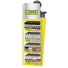 Clipper Lighter Shape Display with 200 + 20 Free Lighters