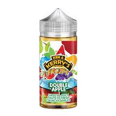 Ken & Kerry's Fruity E-liquid 100ml Double Apple