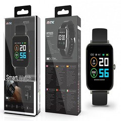 RT023 Waterproof Activity Smart Watch with Climate Alert