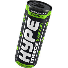 Hype'd Classic Energy Drink 250ml Can 24 Pack