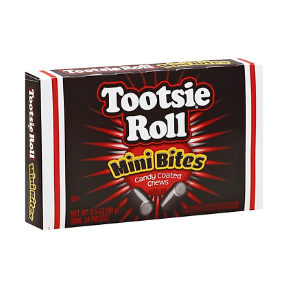 Tootsie Roll Mini Bites (Theatre Box) 99g