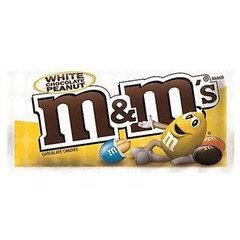 M&M's White Chocolate Peanut 38g 24 Pack