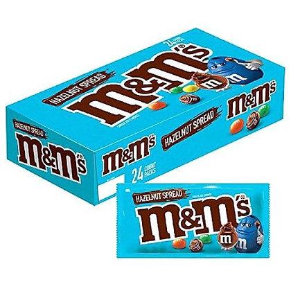 M & M hazelnut spread share size x 24