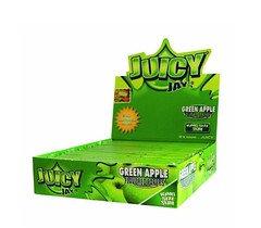 Juicy Jays King Size Slim Rolling Paper Green Apple