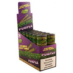 Cyclone Hemp Cone Flavoured Purple With Dank 7