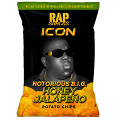 Rap Snacks Notorious B.I.G Honey Jalapeno 28g