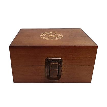 Dark Brown Medium Rolling Box SM-1985