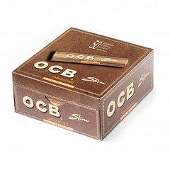 OCB Slim Virgin Rolling Paper 50 Per Box