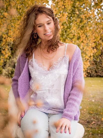 Caraco lilas