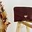 Thumbnail: Pochette bordeaux en croco
