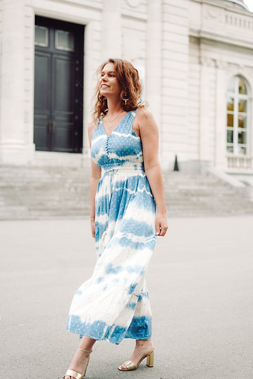 Robe Alma bleue