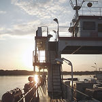 Kommersiell Ferry Boat