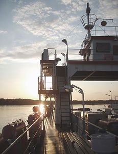 Commercial Ferry Boat