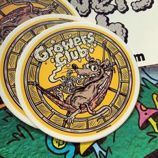 Grwrs Club - Rat Race Sticker