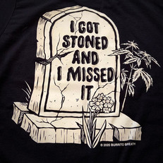 TOMBSTONED SHIRT - Back