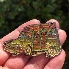 Fortunate Youth - Pin Design