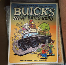 Buicks at Bates 2020 Poster