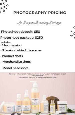 Cosmetaholic Branding 101 Photography Pa