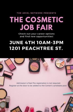 Cosmetic Job Fair - June 4 (10am - 3pm)