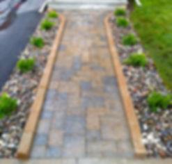 Interlocking walkway in Kingston, ON