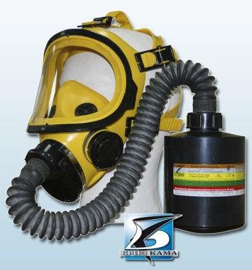 Противогаз промышленный А2В2Е2К2SX(CO)NOHgP3D ППМ