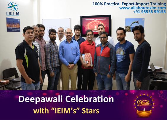 Diwali Celebration with IEIM's Stars