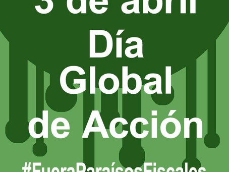 3 de abril: Alternativa Republicana con el Día Global de Acción contra los Paraísos Fiscales